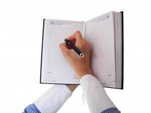 Writing in Agenda sxc